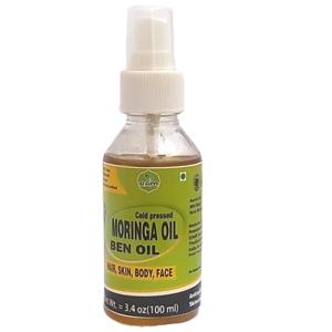 Cold Pressed Organic Moringa Seeds Oil